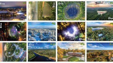 Photo of Elva-teemalised postkaardid on müügil kaubandusvõrgus
