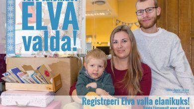 """Photo of Tervituskampaania """"Tere tulemast Elva valda!"""" oli edukas"""