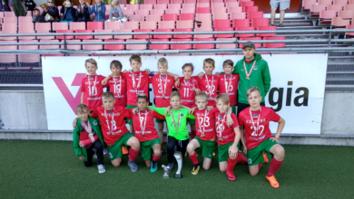 Photo of Noored osalesid kuue võistkonnaga Soomes toimunud Vantaa Cupil