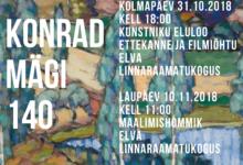 Photo of KUNSTNIK KONRAD MÄE 140. SÜNNIAASTAPÄEVA TÄHISTAMINE