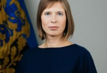 Photo of President Kaljulaid on täna Elvas