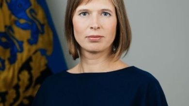 Photo of President Kaljulaid on täna Elvas