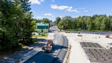 Photo of Elva Kesk tänav sai endale asfaltrüü