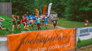 Photo of Elva Vapramäe Jooksu võitsid Eno Vahtra ja Kristel Vallaste