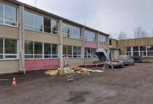 Photo of Rannu koolis algasid ehitustööd