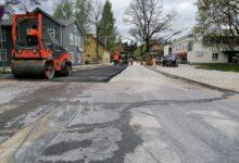 Photo of Elva Pikk tänav on saamas uut asfaltkatet!