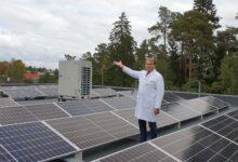 Photo of Elva Haigla käivitab lähikonnas esimese avalikul hoonel töötava päikesepargi
