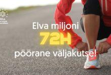 Photo of Elva miljon kutsub osalema pöörases 72 tundi kestvas pideva liikumise väljakutses