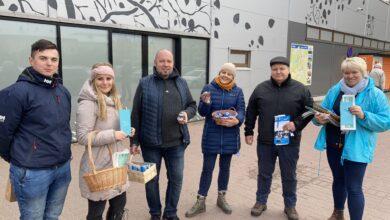 Photo of FOTOD: Kohalikud valimised on tulnud Elva poodide uste ette